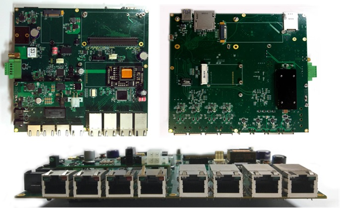 Carrier Board for Jetson TX2 - ID Solution